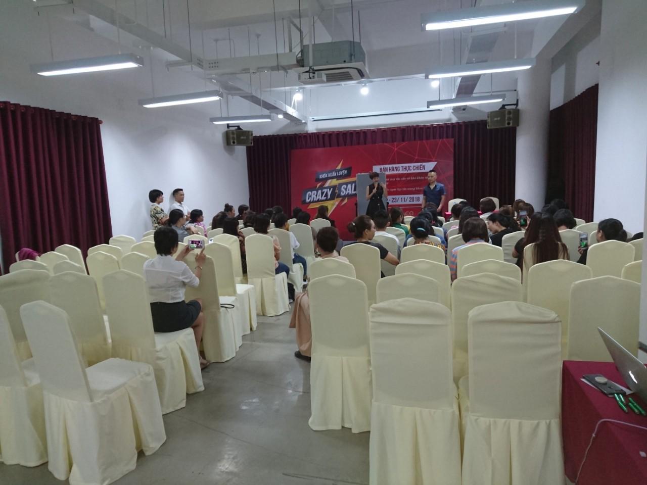 Hội thảo thực chiến bán hàng tại Seminarsaigon.vn diễn ra tốt đẹp