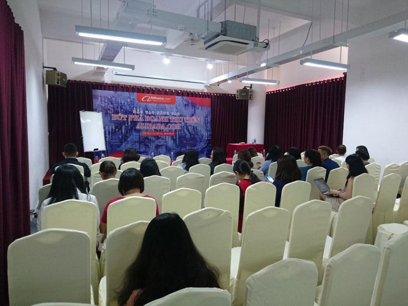 Chúc mừng hội thảo Bứt Phá Doanh Thu Trên Alibaba.com