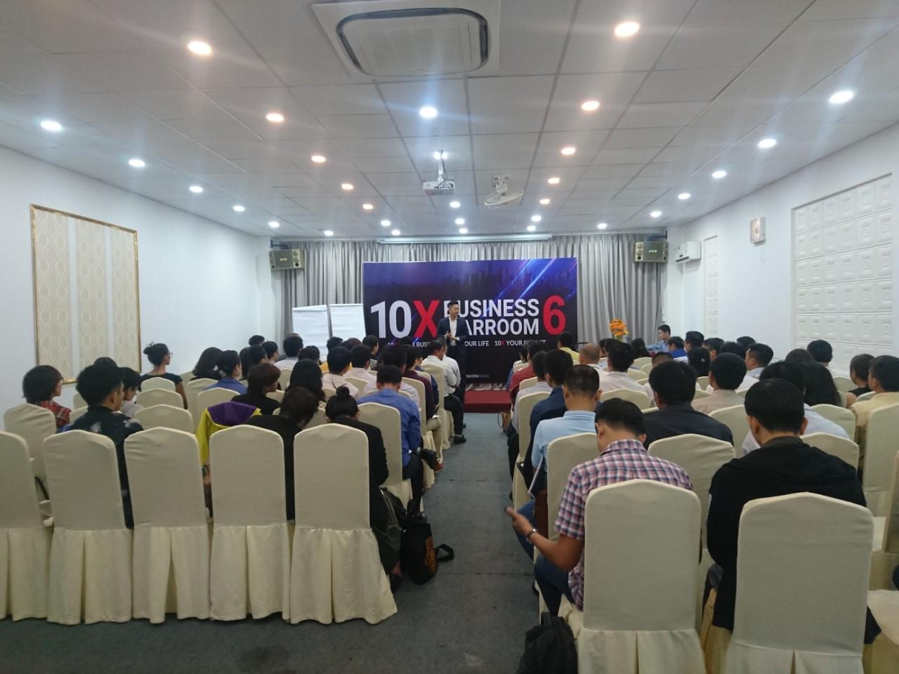 Hội thảo 10 X BUSSINESS WARROOM diễn ra tốt đẹp đạt nhiều mong đợi